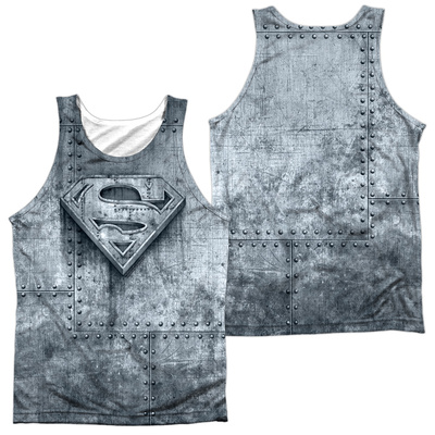 Tank Top: Superman- Made Of Steel (Front/Back) Tank Top
