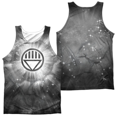 Tank Top: Green Lantern- Black Energy (Front/Back) Tank Top