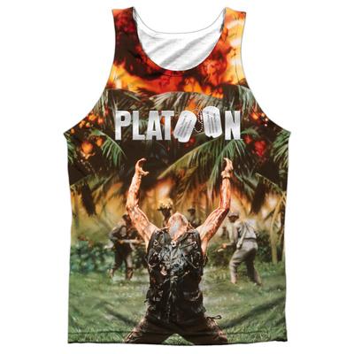 Tank Top: Platoon- Key Art Tank Top