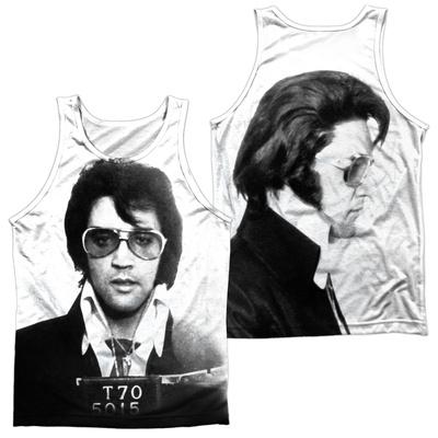 Tank Top: Elvis- Mugshot (Front/Back) Tank Top
