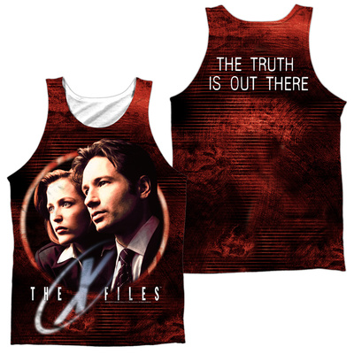 Tank Top: The X Files- Truth Seekers (Front/Back) Tank Top
