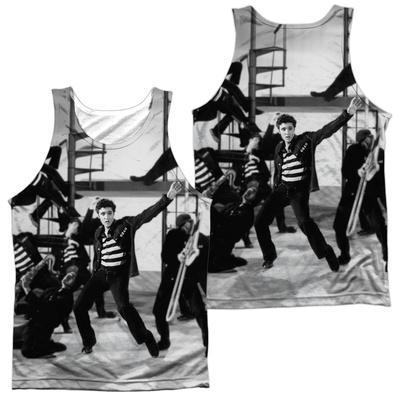 Tank Top: Elvis Presley- Jubilant Felons (Front/Back) Tank Top