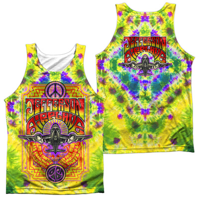 Tank Top: Jefferson Airplane- Take Off (Front/Back) Tank Top