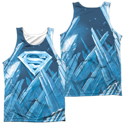 Tank Top: Superman- Solitude (Front/Back) Tank Top