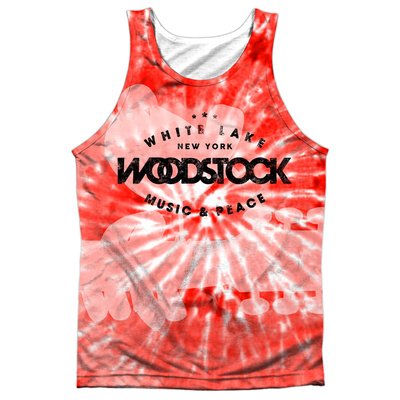 Tank Top: Woodstock- Tie Dye Tank Top!
