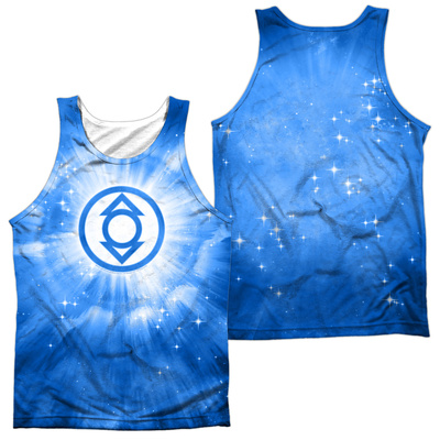Tank Top: Green Lantern- Indigo Energy (Front/Back) Tank Top