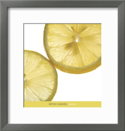 Lemon Prints by Mitch Hughes