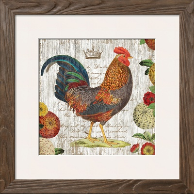 Rooster I Art by Suzanne Nicoll