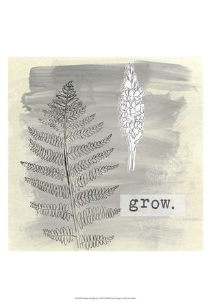 Garden Scrapbook I Posters by June Erica Vess