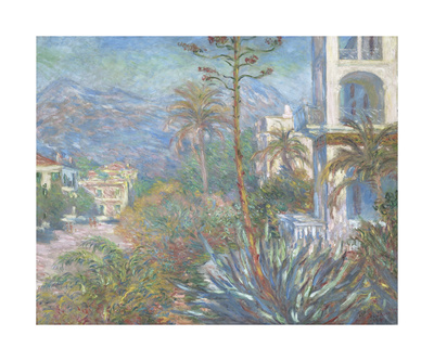 Villas at Bordighera, 1884 Premium Giclee Print by Claude Monet