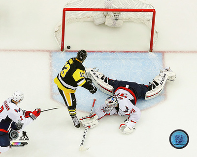 Nick Bonino Game winning overtime goal 2016 NHL Stanley Cup Playoffs Photo