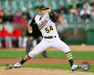 Sonny Gray 2015 Action Photo