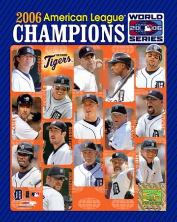 '06 Tigers ALCS Champions Team Composite ll Photo