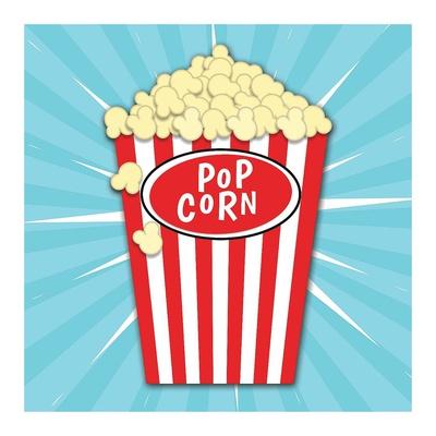 Popcorn Prints by Ashley Hutchins