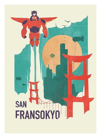 San Fransoyko Posters by Jay Fleck