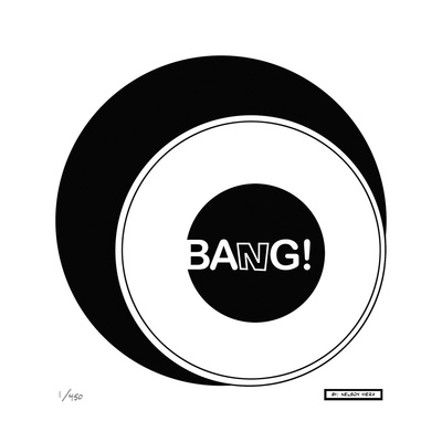 Bang! Limited Edition by Nelson Viera