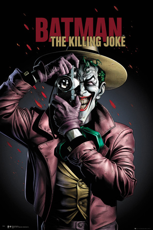 Batman- The Killing Joke Cover Plakater