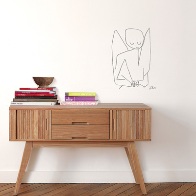 Ange oublieux (Klee) Wall Decal