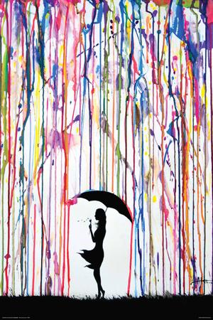 Marc Allante- Dandelion Kunstdruck von Marc Allante