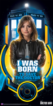 Doctor Who- Born To Save The Doctor Poster