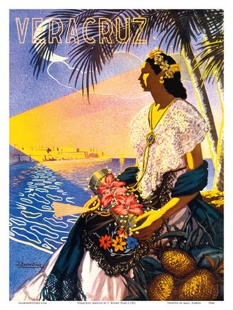 Veracruz, Mexico Prints by  Diaz