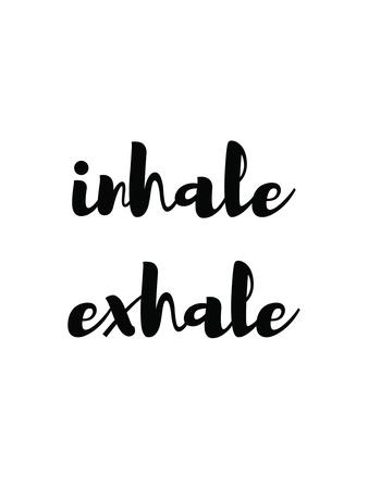 Inhale Exhale Reprodukcja