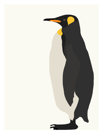 Penguin Posters by Jorey Hurley