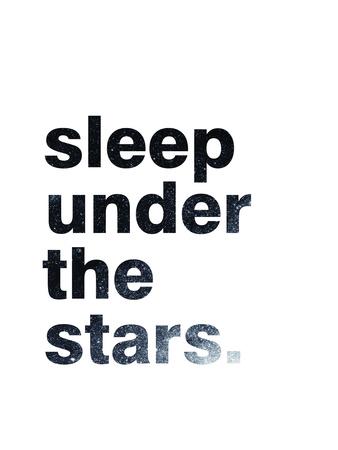 Sleep Under The Stars Poster van Pop Monica