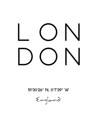 London Affischer av Pop Monica