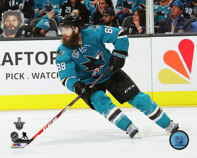 Brent Burns San Jose Sharks Action Photo
