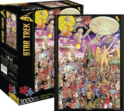 Star Trek 50th Anniversary 3,000 Piece Puzzle Jigsaw Puzzle
