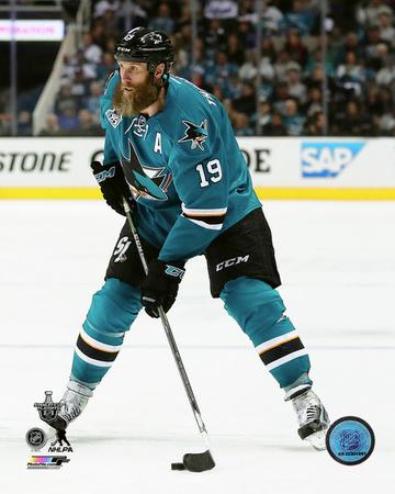 Joe Thornton San Jose Sharks Action Photo