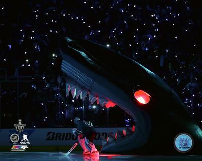 Martin Jones San Jose Sharks 2016 Western Conference Finals Game Six Action Photo