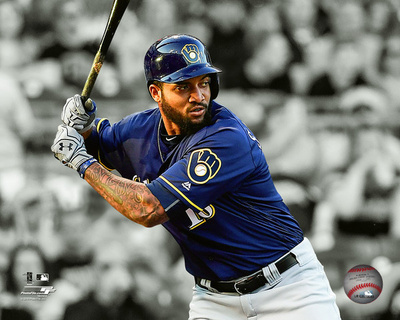 Domingo Santana 2016 Spotlight Action Photo