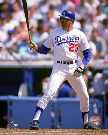 Kirk Gibson 1989 Action Photo