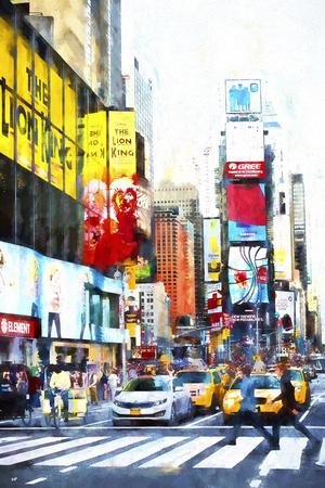 Crosswalk Giclee Print by Philippe Hugonnard