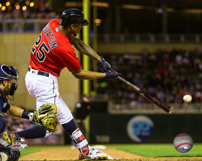 Byron Buxton 2016 Action Photo