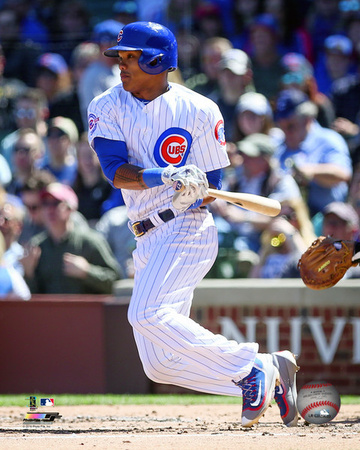 Addison Russell 2016 Action Photo