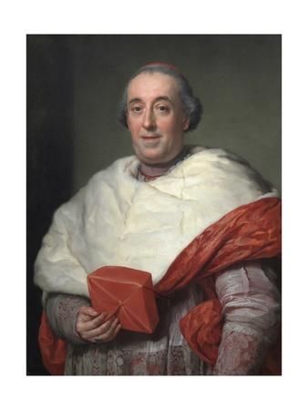 Portrait of Cardinal Zelada, 1773 Giclee Print by Anton Raphael Mengs