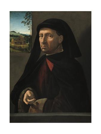 Portrait of a Gentleman, C.1505 Giclee Print by Ridolfo Ghirlandaio