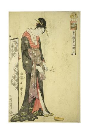 Hour of the Ox [2Am] (Ushi No Koku), C. 1794 Giclee Print by Kitagawa Utamaro