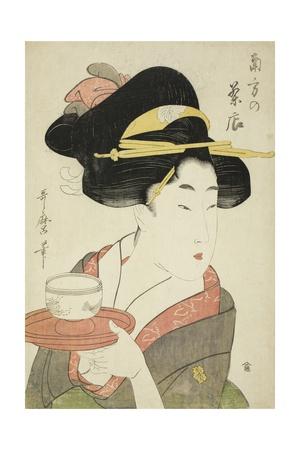 Southern Teahouse Giclee Print by Kitagawa Utamaro