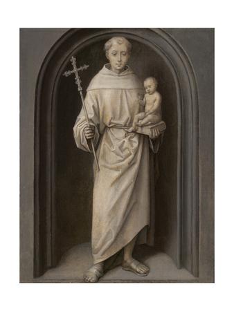 Saint Anthony of Padua, 1485-90 Giclee Print by Hans Memling