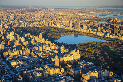 Upper West Side and Central Park, Manhattan, New York City, New York, USA Photographic Print by Jon Arnold