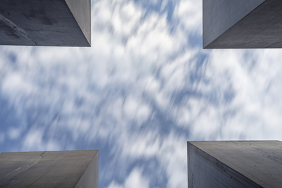 Germany, Deutschland. Berlin. Berlin Mitte. Holocaust Memorial. Photographic Print by Francesco Iacobelli