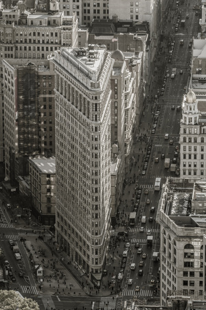 Usa, New York, Manhattan, Midtown, the Flatiron Building Photographic Print by Alan Copson