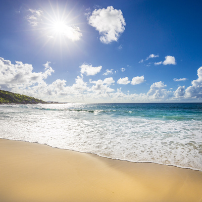 Grand Anse Beach, La Digue, Seychelles Photographic Print by Jon Arnold
