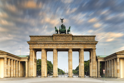 Germany, Deutschland. Berlin. Berlin Mitte. Brandenburg Gate, Brandenburger Tor Photographic Print by Francesco Iacobelli