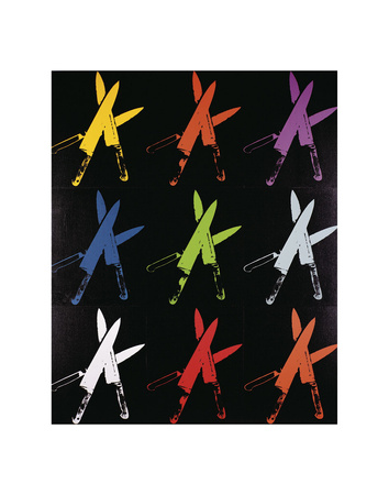 Knives, 1981-82 (multi) Prints by Andy Warhol