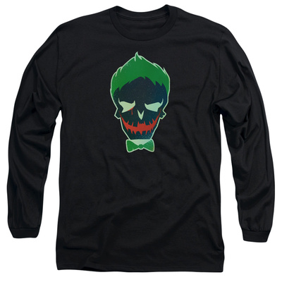 Long Sleeve: Suicide Squad- Joker Skull T-shirts